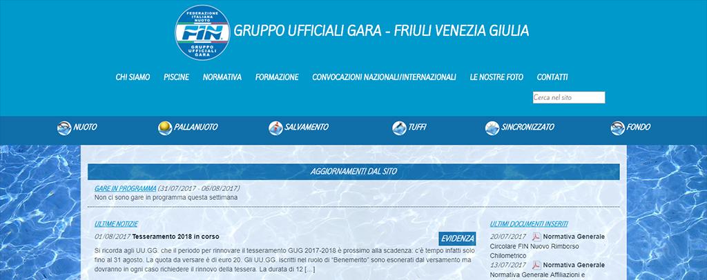 gruppo ufficiali gara FVG